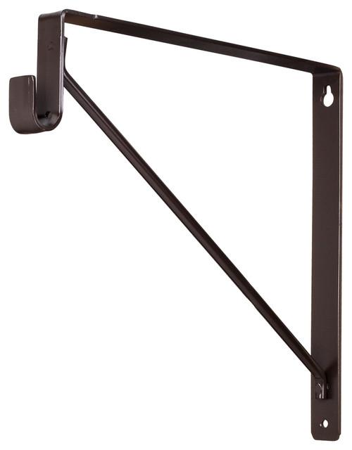 shelf and rod support bracket brackets by. Black Bedroom Furniture Sets. Home Design Ideas