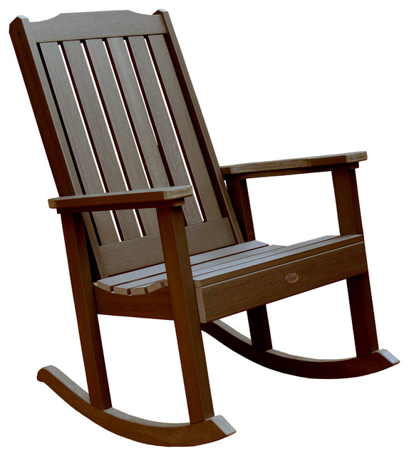 Lehigh Rocking Chair Craftsman Outdoor Rocking Chairs by highwood