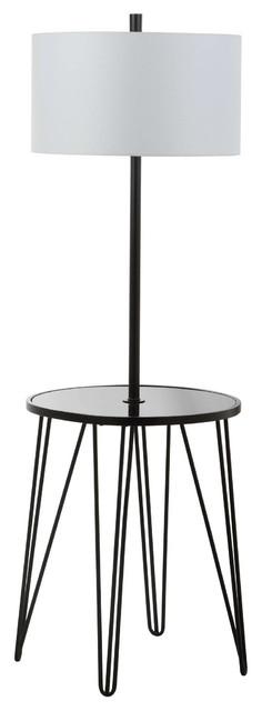 Safavieh Ciro 58 H Floor Lamp Side Table.