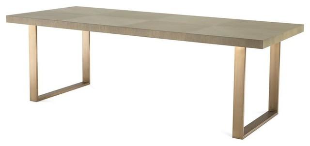 Surprising Brass Dining Table Eichholtz Remington Gold 90X39X30 Interior Design Ideas Tzicisoteloinfo