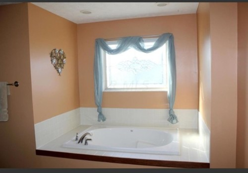 . What to do with second floor bathroom window over tub