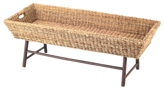 Basket coffee table coffee tables by padma 39 s plantation Coffee table baskets