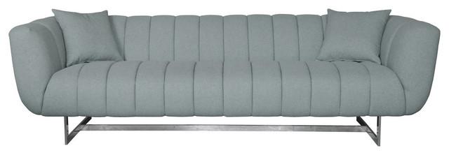 Butler Sofa, Gray.