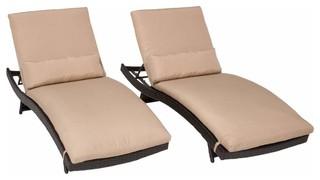 Miseno MPF-BALI2X Java 2-Piece Outdoor Chaise Lounge Chair Set