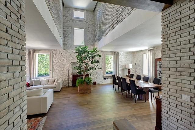 Esempio di case e interni contemporanei