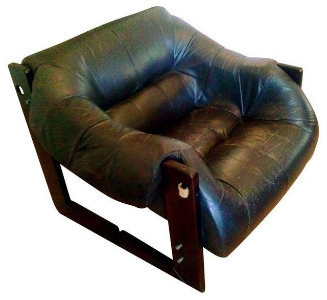 Percival Lafer Chair In Chocolate Brown   $1,000 Est. Retail   $475 On  Chairish.