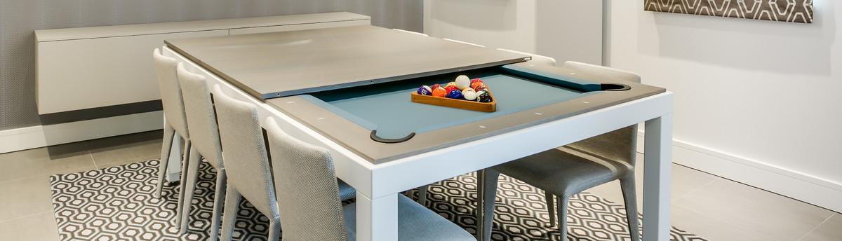 Fusiontables Mesa comedor billar Dining pool table Barcelona
