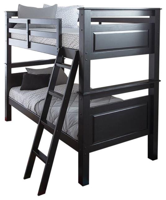 Beckett Bunk Bed, Black.