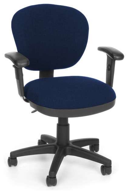 Ofm Ergonomic Fabric Executive Computer Task Chair With Drafting