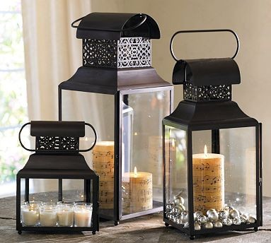 Carter Filigree Lantern  outdoor lighting
