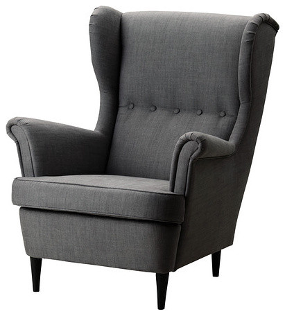 Is This Ikea Strandmon Wingback Chair Available In Burnt Red Colour?