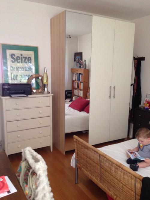 am nager un bureau dans une chambre. Black Bedroom Furniture Sets. Home Design Ideas