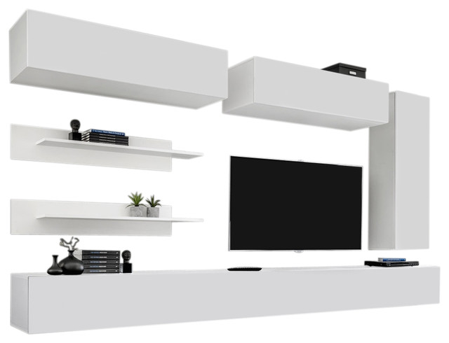 Wall Mounted Floating Modern Entertainment Center Fly L