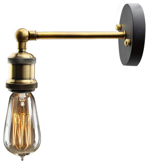 LNC   Metal Wall Sconce, Bronze   Wall Sconces