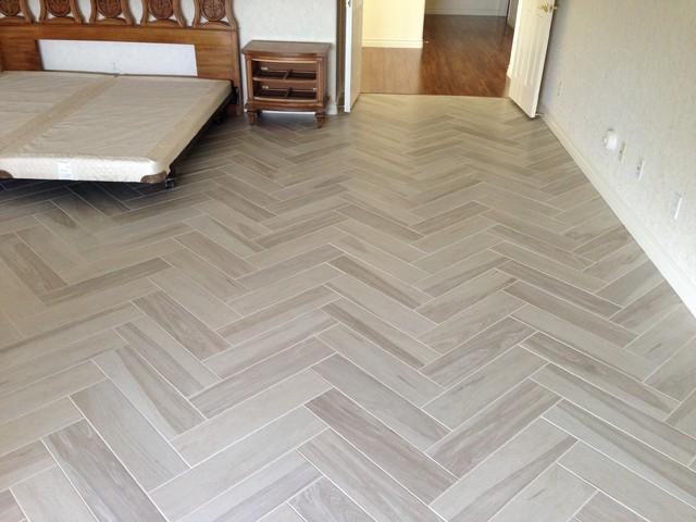 Tile transitional bedroom las vegas by expert for Expert flooring solutions