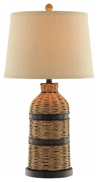 Stein World Caravel By Panama Jack Table Lamp, Brown Color 99768