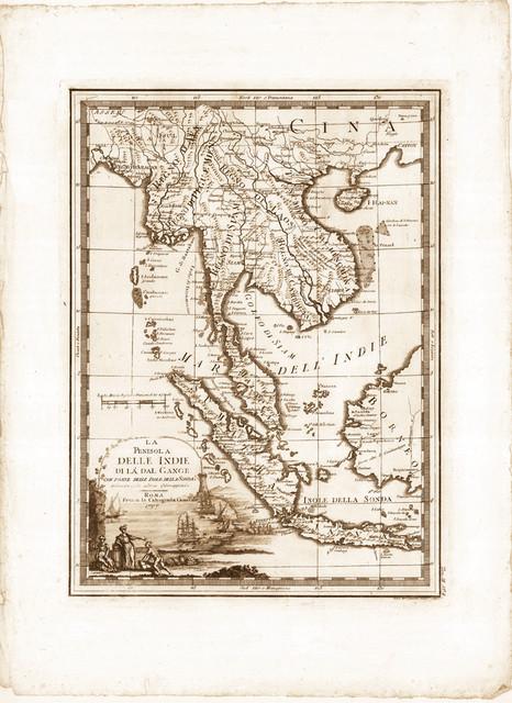 Indian Peninsula Map on