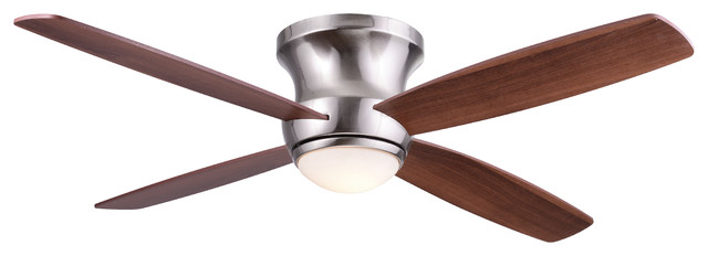 """Wind River Zorion 52"""" Nickel Contemporary Ceiling Fan."""