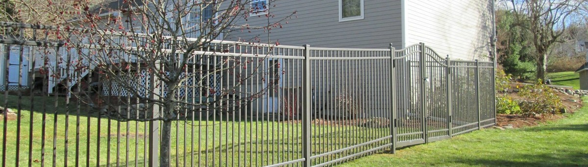 Fence and gate american fence association gates wooden for Bath remodel nashua nh
