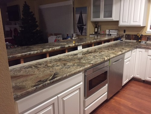 Hate My New Countertops. Any Suggestions?