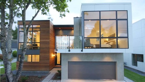 Modern Home Windows modern home designs - are they creepy to you?