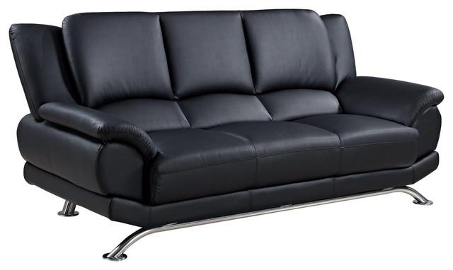 Black Leather Sofa Usa
