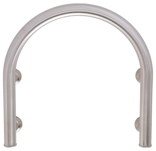 Arista Stainless Steel U Shaped Shower Faucet Safety Assist Bar