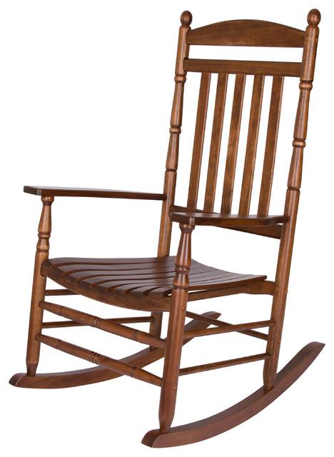 Sawyer Porch Rocking Chair, Oak.