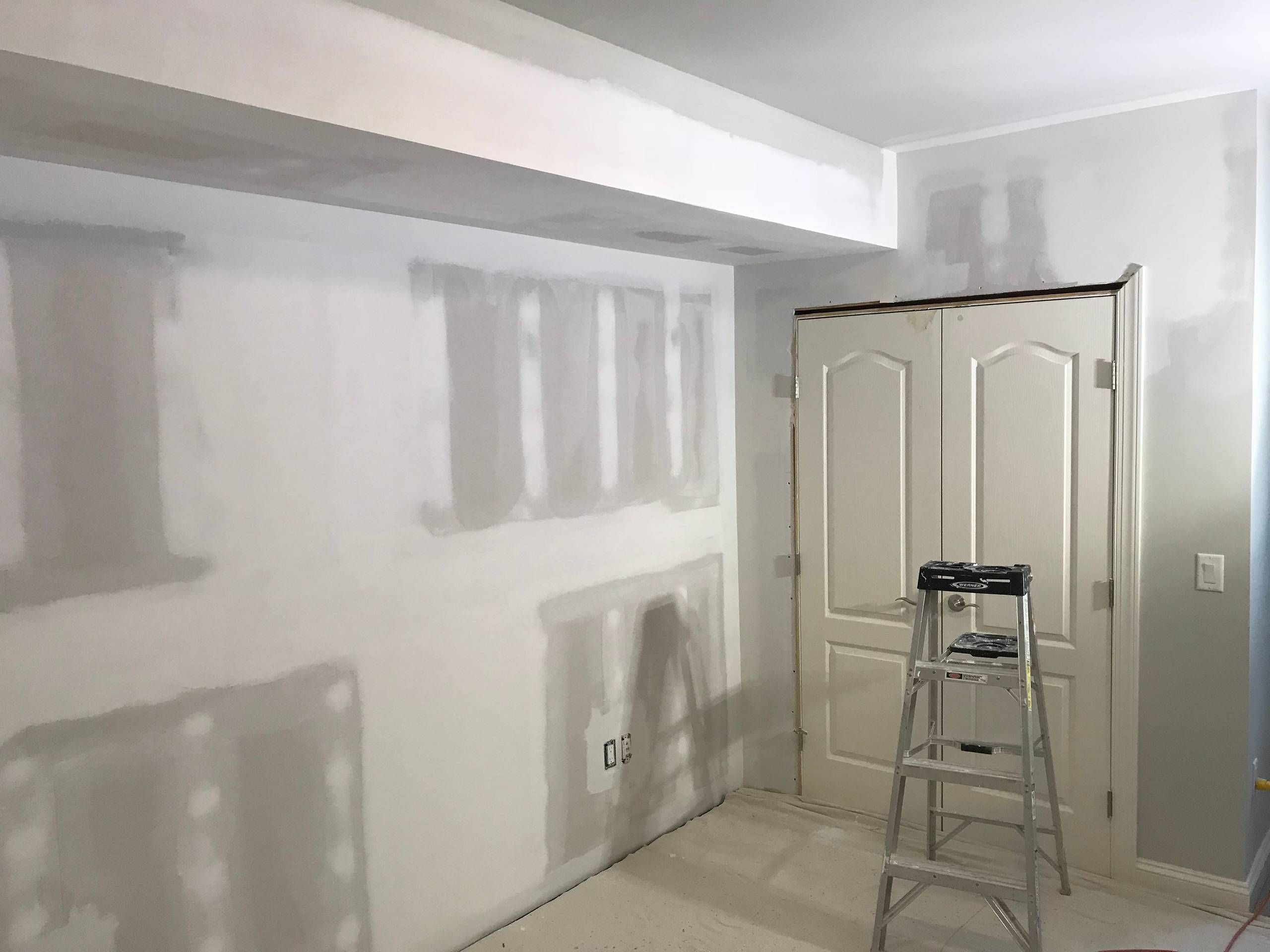Riva Water Damage Repair and Painting Project