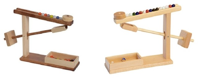 Mechanical Toy Gravity Game With Marbles Traditional  : traditional kids toys and games from www.houzz.com size 640 x 254 jpeg 21kB