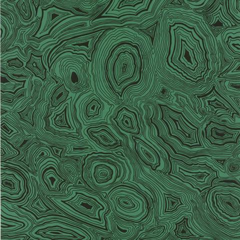 Fornasetti Malachite Wallpaper, Green