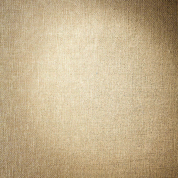 Metallic Silver Coated Beige Linen Fabric