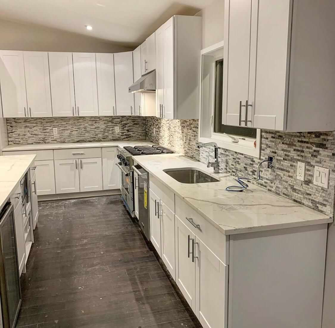 Kitchen Tile & Countertop Projects