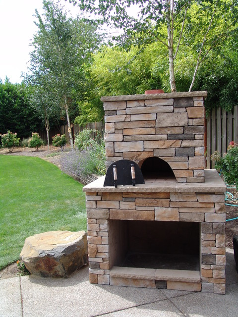 Pizza Oven Traditional Portland By Brown Bros Masonry