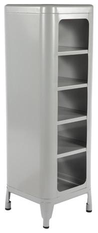 The Xavier Storage Shelf, Gray.