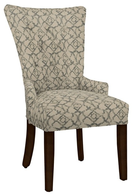 Hekman Woodmark Sandra Dining Chair Medium Orange
