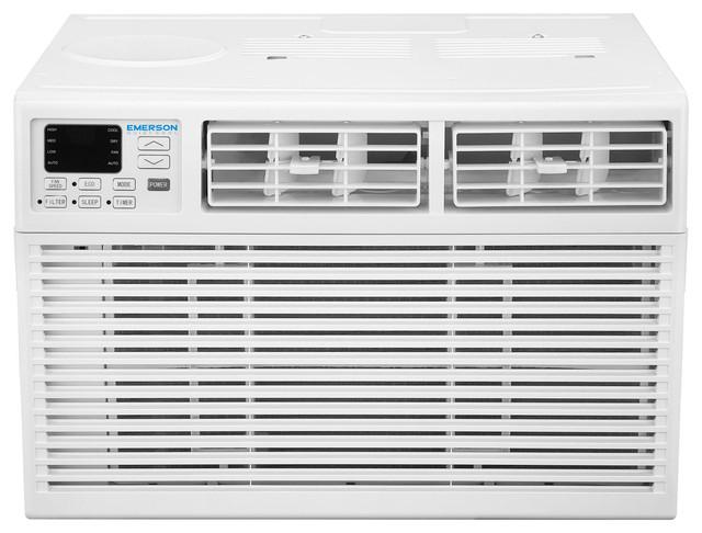 Emerson quiet kool 8 000 btu 115v window air conditioner for 115v window air conditioner with heat