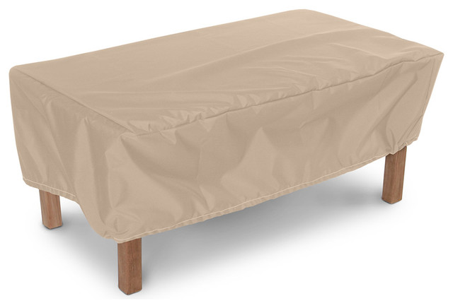 "48"" X 24"" Ottoman Small Table Cover Contemporary Outdoor Furnit"