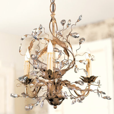 Petitie Claire Chandelier traditional chandeliers