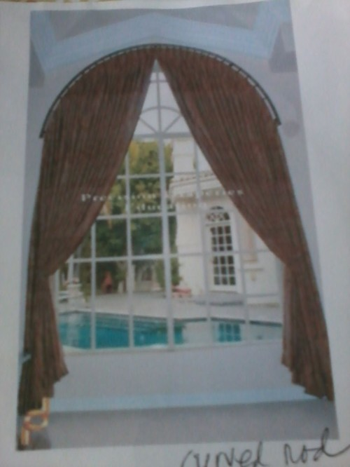 Arch Window Treament Ideas And Info Needed