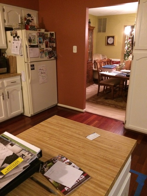 I Have Seen Many Open Floor Plans And Most Island With Bar Large Table But Nothing Where Dining Room Kitchen Are Both Visible