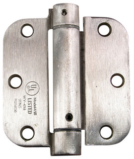"""3.5"""" X 3.5"""" With 5/8"""" Radius Spring Hinges - Traditional - Hinges - by Hinge Outlet, Inc."""
