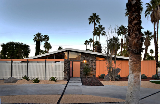 Krisel-designed Mid Century Home in Twin Palms