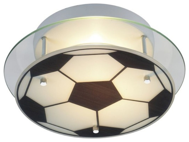 Soccer club light fixture contemporary kids ceiling lighting soccer club light fixture aloadofball Image collections