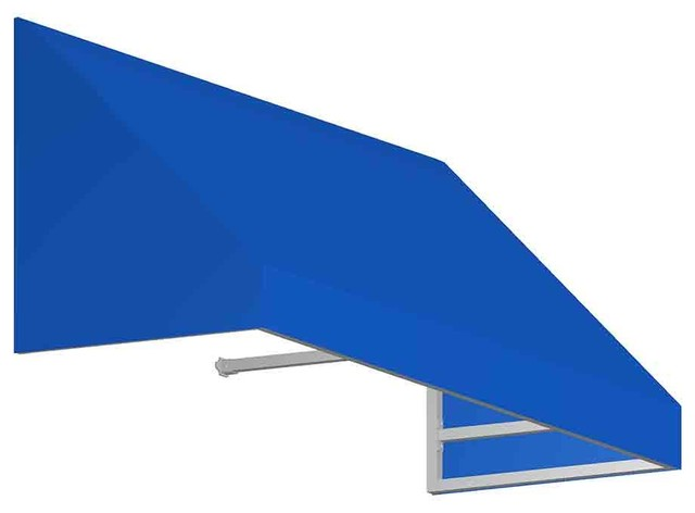 3&x27; New Yorker Window/entry Awning, Bright Blue.