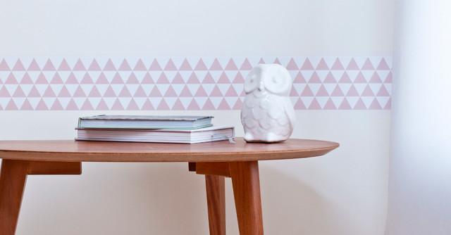 frise murale modern lyon by poisson bulle. Black Bedroom Furniture Sets. Home Design Ideas