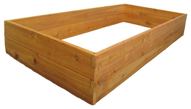 """Raised Bed Garden Kit 3'x6'x11"""", Premium Cedar"""