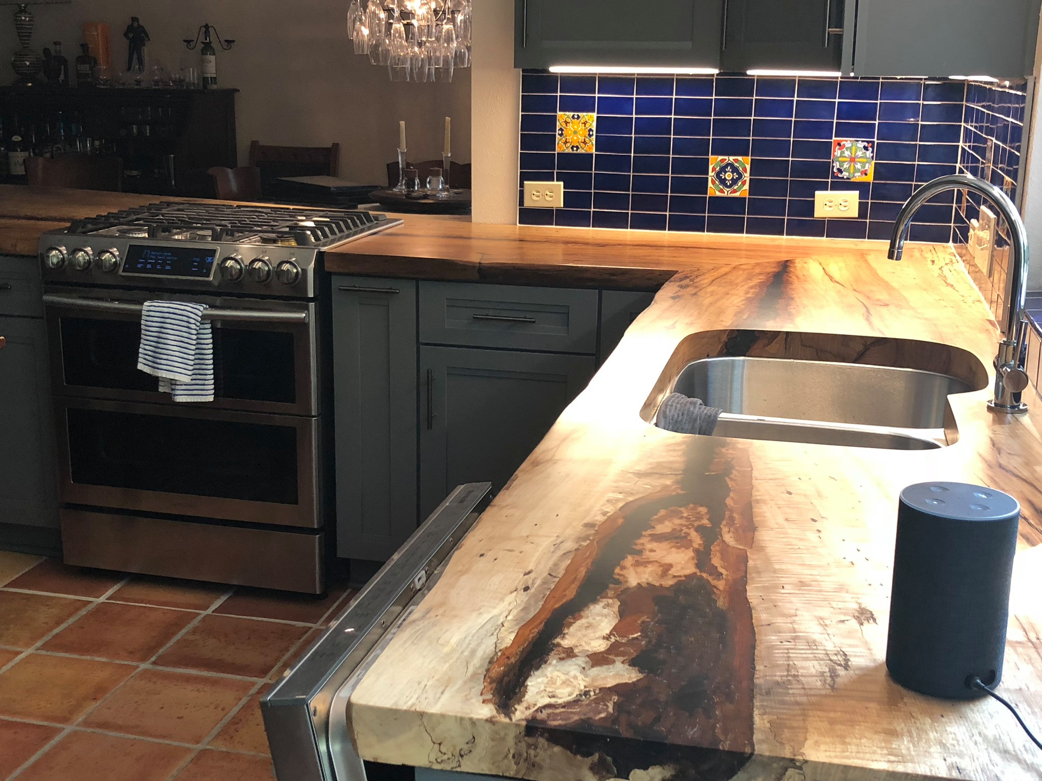 Live edge Slabs for the Kitchen