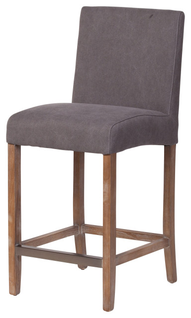 James Counter Stool Frost Gray Transitional Bar