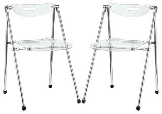Telescope Dining Chairs, Set of 2